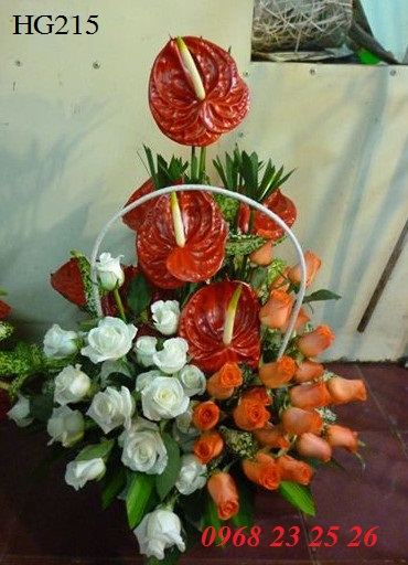 Dịch vụ điện hoa tươi thị xã Phước Long tỉnh Bình Phước
